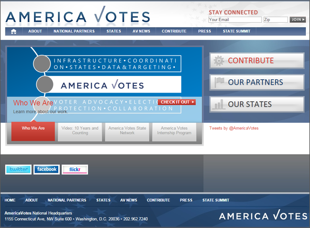 Refreshed and Refocused - America Votes